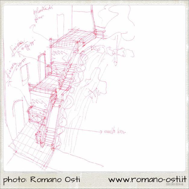 romano-osti-palazzo-rossi-schizzo-scala-esterna